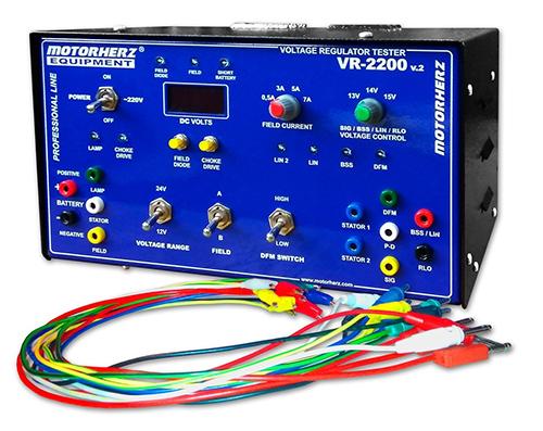 Тестер регуляторов напряжения Motorherz VR-2200
